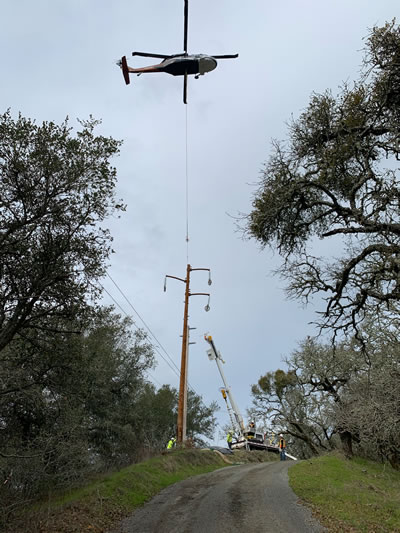 Helicopter Power Poll Install