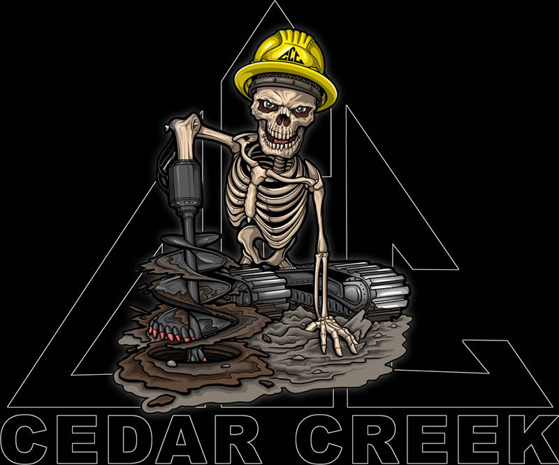 Cedar Creek Corp Logo - Skeleton